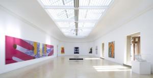Gary Hume Flashback, Leeds Art Gallery. Photographer Jonty Wilde.