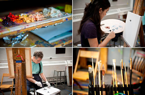 Two-year studio art intensive program at the National Academy School