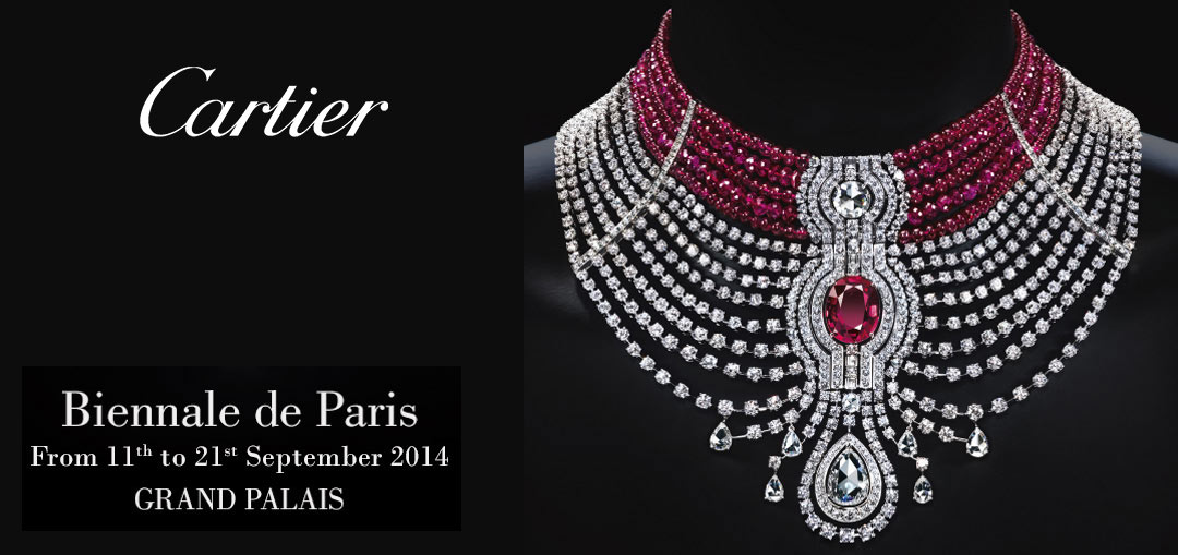 Cartier at the 27th Biennale des Antiquaires‏