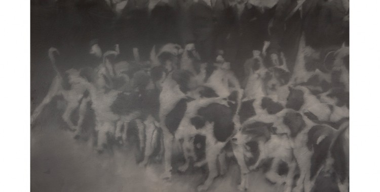 Gerhard Richter. Hunting Party, 1966. The Art Institute of Chicago, Gift of Edlis/Neeson Collection. © Gerhard Richter.