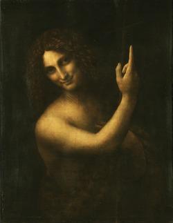 Leonardo da Vinci's St. John the Baptist, 1513-16